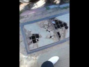 الحالة الكارثية لشارع باستور وسط مدينة مكناس