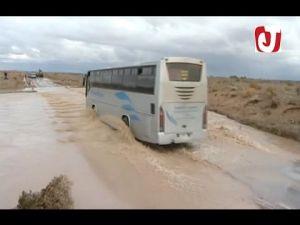 الفيضانات تضرب إقليم فكيك من جديد و تقطع الطريق على المسافرين والطلبة بوادي بورديم