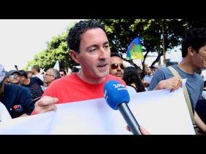 بلافريج من مسيرة الرباط: نحتاج انفراجاً سياسياً وبدايته إطلاق سراح المعتقلين