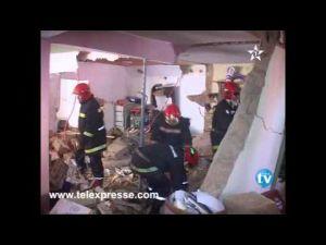 قتلى وجرحى في انفجار قنينة غاز بمحل للبقالة بمدينة ازرو