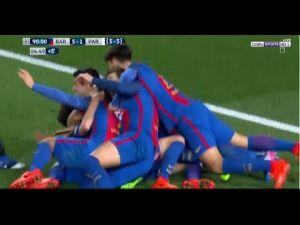 اهداف مباراة برشلونة وباريس سان جيرمان 6-1