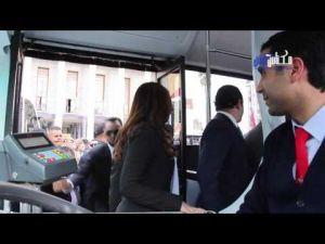 شاهد الشكل الجديد لحافلات سيتي باص مكناس ومميزاتها الحديثة