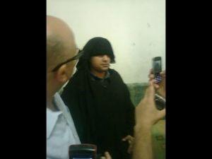ضبط رجل يرتدي «النقاب» لمقابلة عشيقته في وجدة