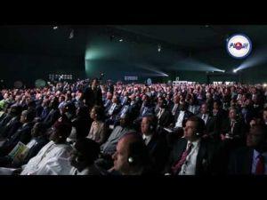 من مكناس كلمة اخنوش و الرئيس الغيني عقب المناظرة التاسعة للفلاحة