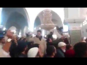 إحتجاجات داخل مسجد يوسف بن تاشفين بفاس ردا على توقيف الشيخ محمد أبياط