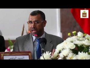 كلمة رئيس جماعة مكناس خلال إفتتاح دورة أكتوبر العادية