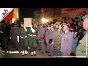 ساكنة الحاجب تشيع جثمان مجند بالخدمة العسكرية إلى مثواه الأخير
