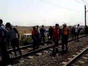 اصطدام قطارين جنوب مدينة المحمدية