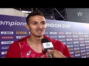 تقرير عن فوز العداء المغربي سفيان البقالي بفضية سباق 3000 متر موانع ببطولة العالم بلندن
