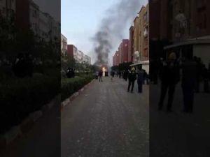 النيران تلتهم 'هوندا' بحي أناسي بمكناس