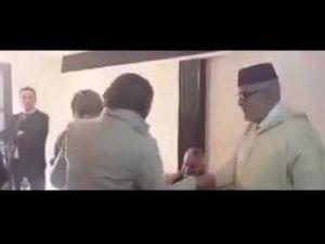 بنكيران يتلقى التعازي جنازة والدته