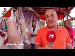 سكان الحاجب يتسابقون لتقطيع أضاحيهم.. وهذه نصيحة جزار للمغاربة
